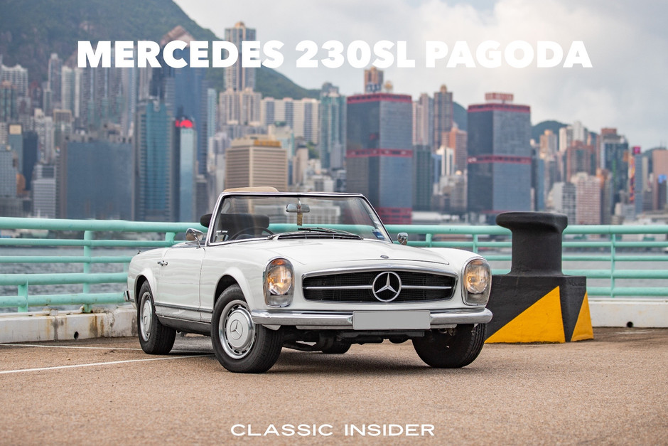Mercedes 230SL Pagoda Automatic | $800K HKD