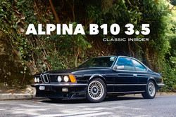 BMW ALPINA B10 3.5 635CSi  | #SOLD