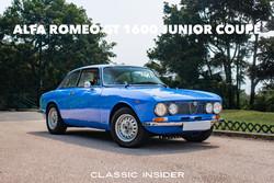 ALFA ROMEO GT 1600 JUNIOR COUPÉ | #SOLD