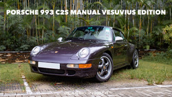 Porsche 993 C2S Manual Vesuvius Edition | #SOLD