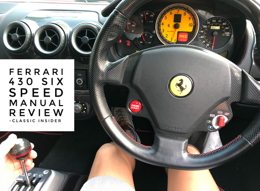 Test Drive Report Vol. 4 | Ferrari F430 with Manual 6 Speed