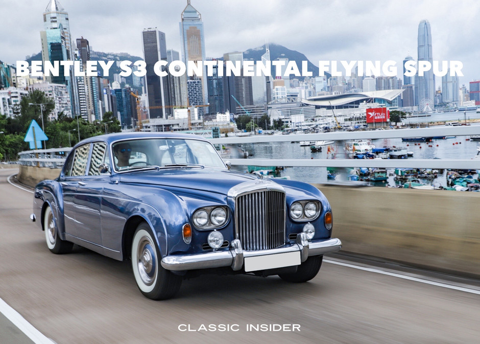 Bentley S3 Continental Flying Spur by H.J. Mulliner   $2.48M HKD