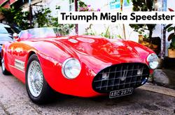 Triumph Miglia Speedster | $300K HKD/ $38,500 USD *Not Registered*