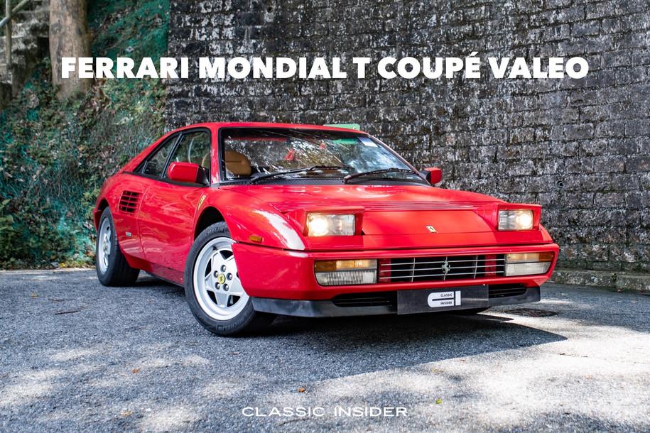 Ferrari Mondial T Coupé Valeo | $580K HKD