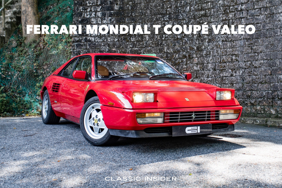 Ferrari Mondial T Coupé Valeo   $400K HKD