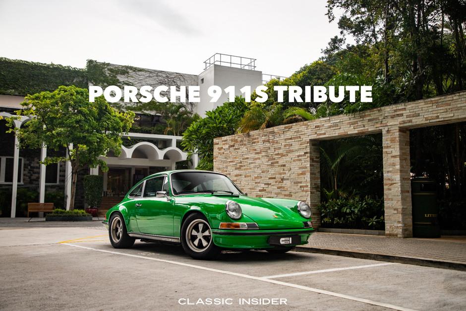 Porsche 911S Tribute by AUTOFARM   $2M HKD