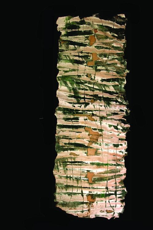 Peinture érosion karstique