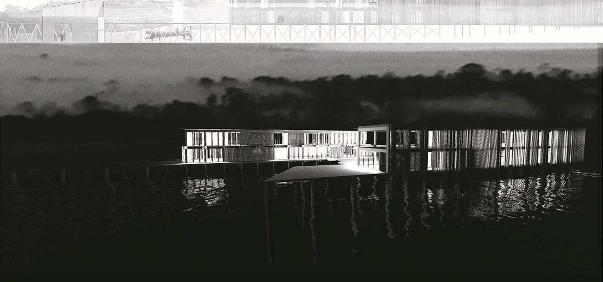 architecture sur l'eau