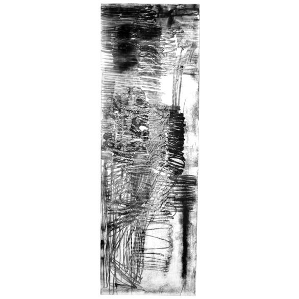 Apparition, gravure 80-150cm  2/10