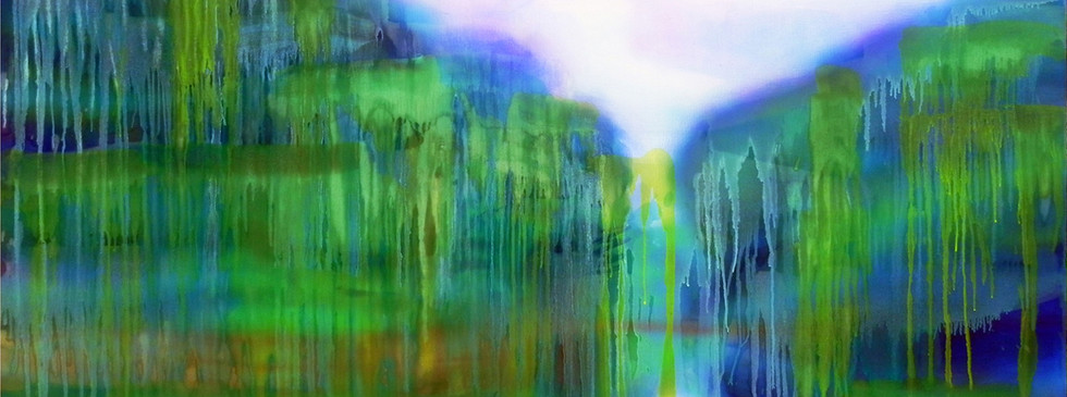 reflection on the shore 195-112cm