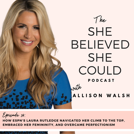 How ESPN's Laura Rutledge Navigated Her Career, Embraced Femininity, and Overcame Perfectionism
