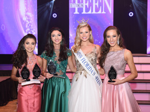 Miss Florida's Outstanding Teen Preliminary Winners