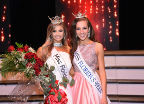 Miss Florida and Miss Florida's Outstanding Teen Announced!