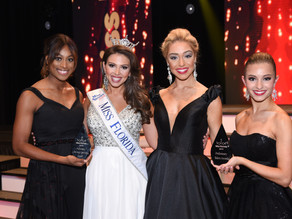 Thursday Night Miss Florida Preliminary Winners