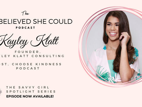 How teen entrepreneur, Kayley Klatt, launched her agency at the age of 17