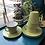 Thumbnail: Vintage Olive Melaware Cup and Saucer set