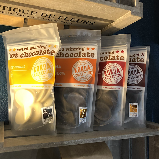 Kokoa Award Winning Hot Chocolate Tablets