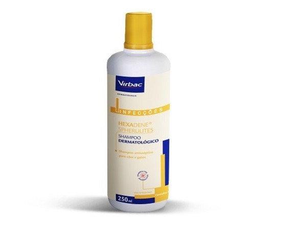 Shampoo Hexadene Spherulites para Cães e Gatos - 250 mL