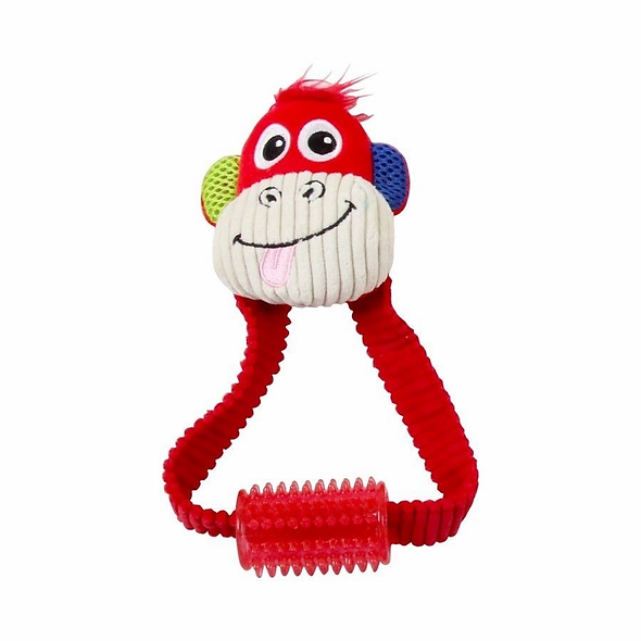 Brinquedo Pelúcia Pawise Vivid Life Monkey With Tugger