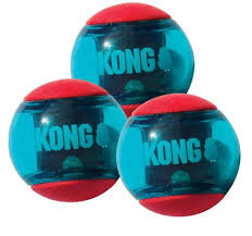 Brinquedo Para Caes Kong Squeezz Action Red Large PSA13