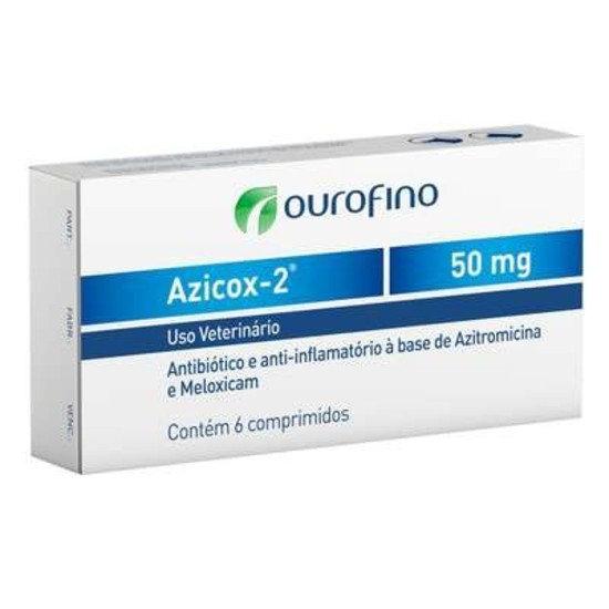Azicox 2 de 6 Comprimidos 50 mg