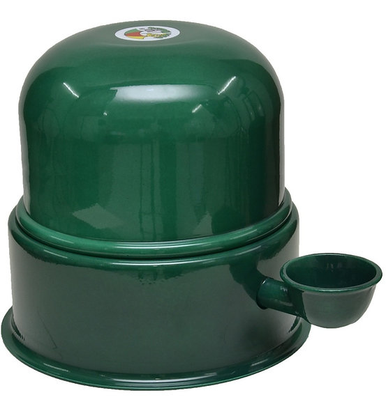Bebedouro Vida Mansa Alumínio Verde