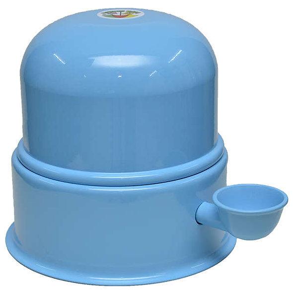 Bebedouro Vida Mansa Alumínio Azul Bebê