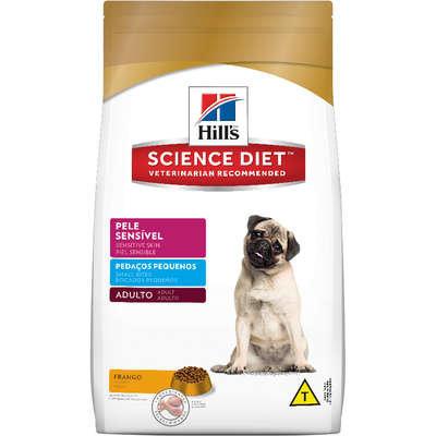 Ração Hills Science Diet Canino Adulto Pele Sensível Pedaços Pequenos