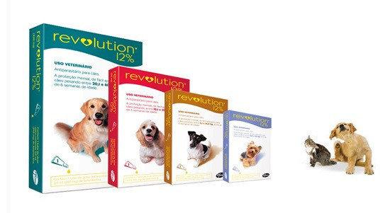 Anti Pulgas e Carrapatos Revolution 12% para Cães
