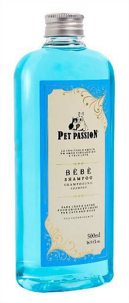 SHAMPOO BEBE 500ML - PET PASSION