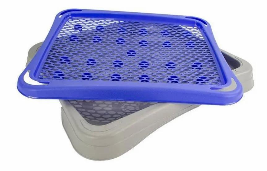 Sanitário Higiênico Plast Pet Pipi Tapete Roxo Carol