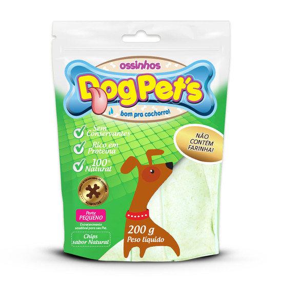 Ossinhos DogPets Chips Natural Cães