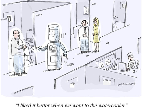 Productivity and the Virtual Water Cooler