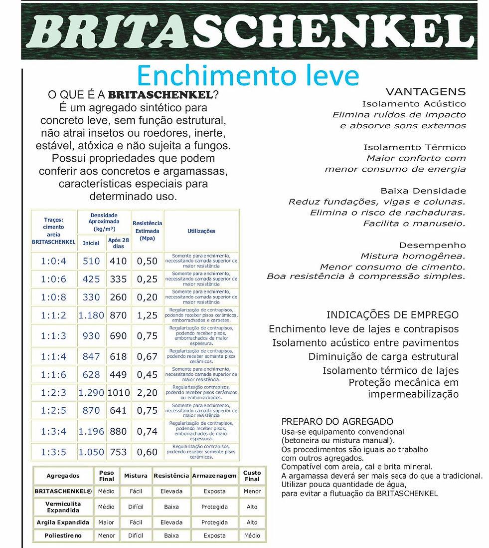 britaleve britaschenkel enchimento leve