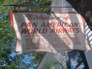 Birthplace of Pan-American Airways. First flights were to Havana, Cuba.