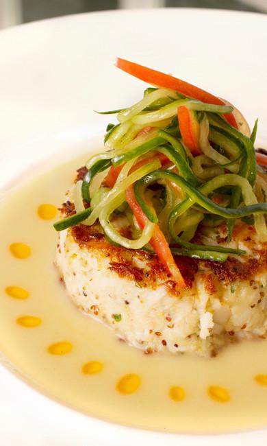 Cod Filet at Galley Beach Restaurant