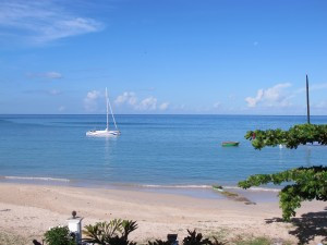 The coast of Grenada