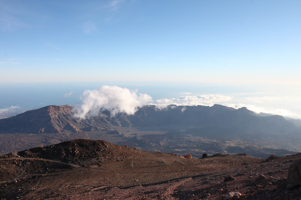 Volcanic Tenerife and views from Mt. Tiede