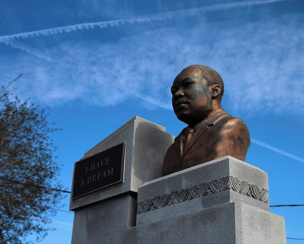 Statue of Dr. King in Selma