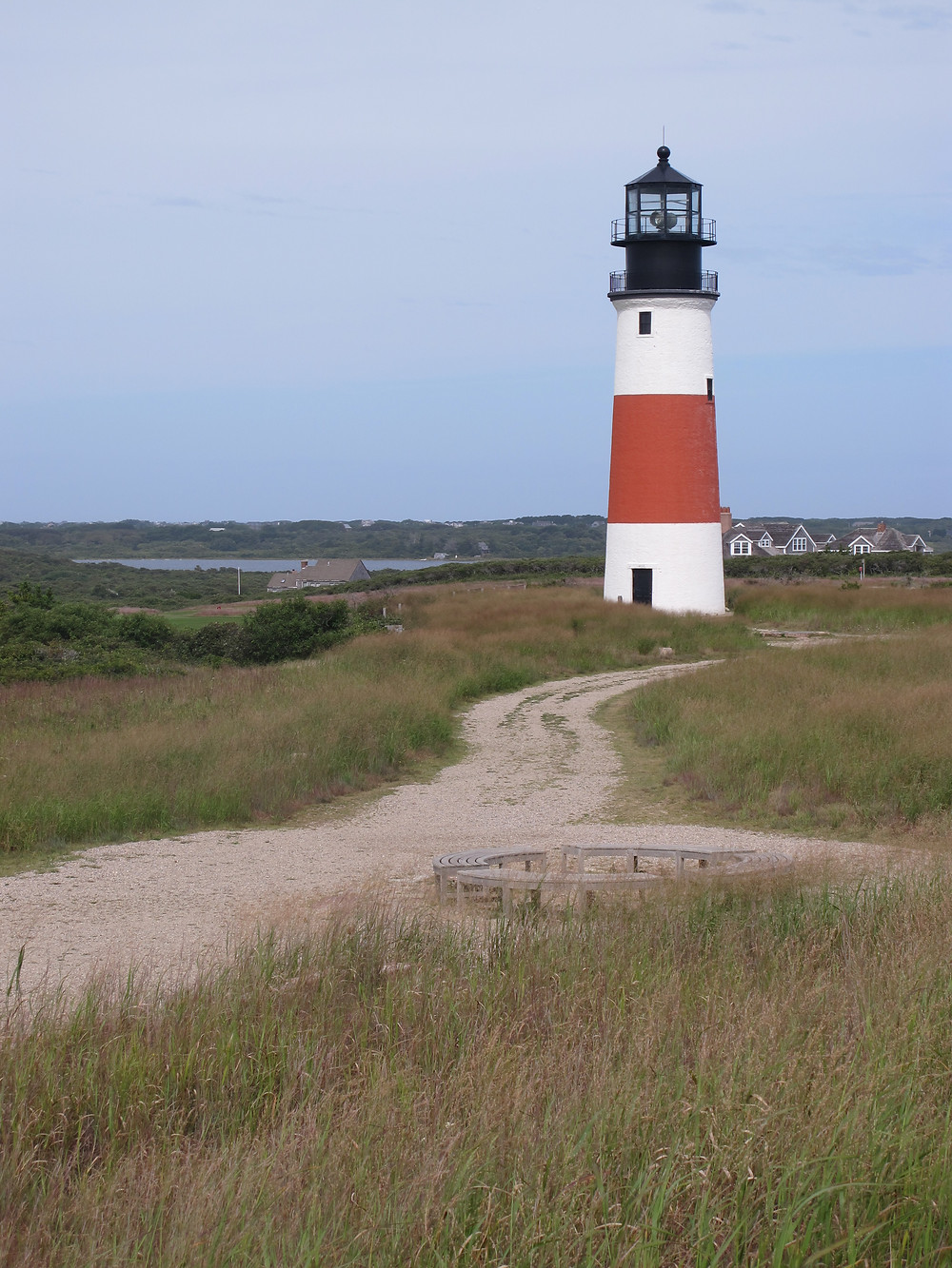 Nantucket Lighthouse on the west of the island
