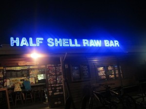 Half Shell Raw Bar, great sports bar and restaurant on the historic Key West waterfront