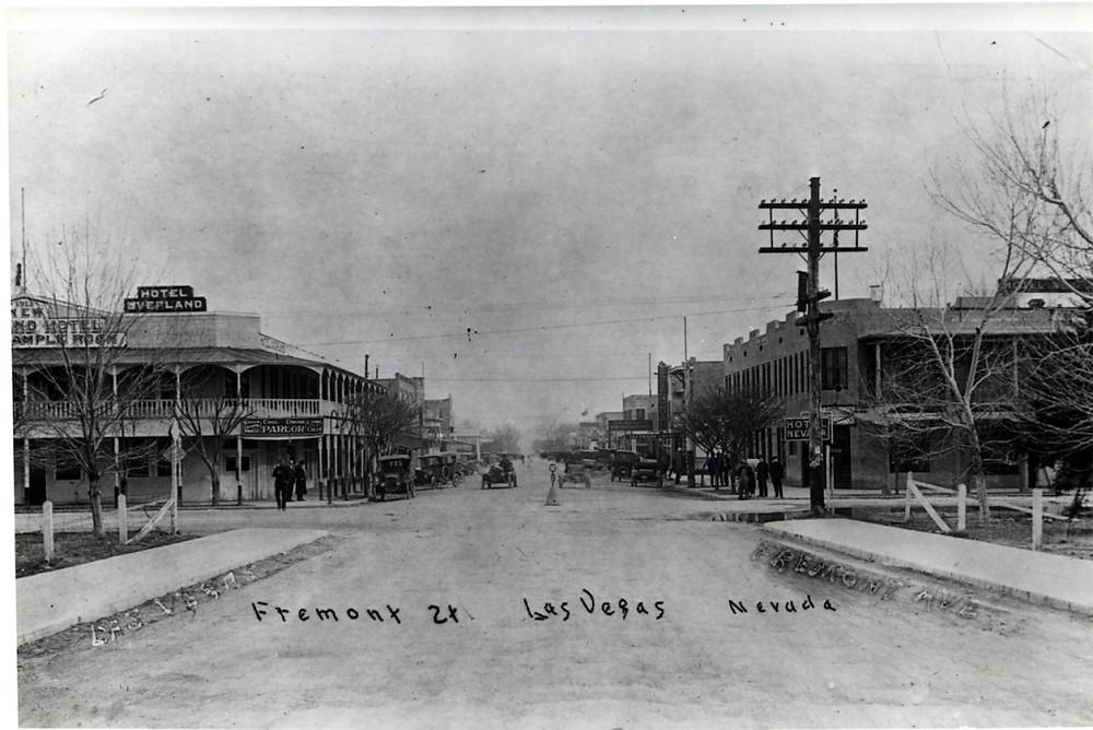 Fremont Street Las Vegas 1906