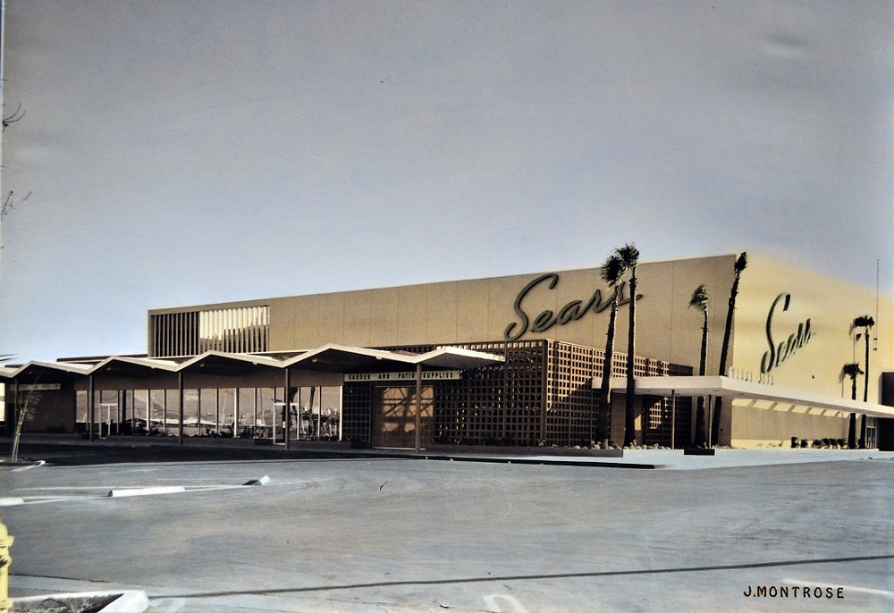 The north end anchor of Boulevard Mall since the 1960s. Photo courtesy of Nevada State Museum