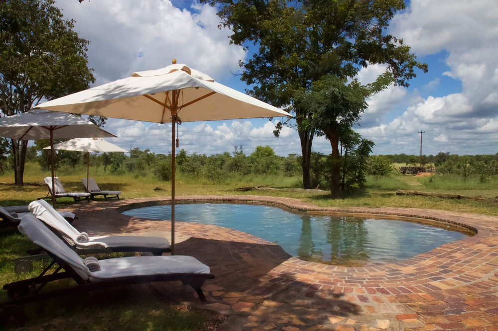 Pool at Elephant Eye Lodge