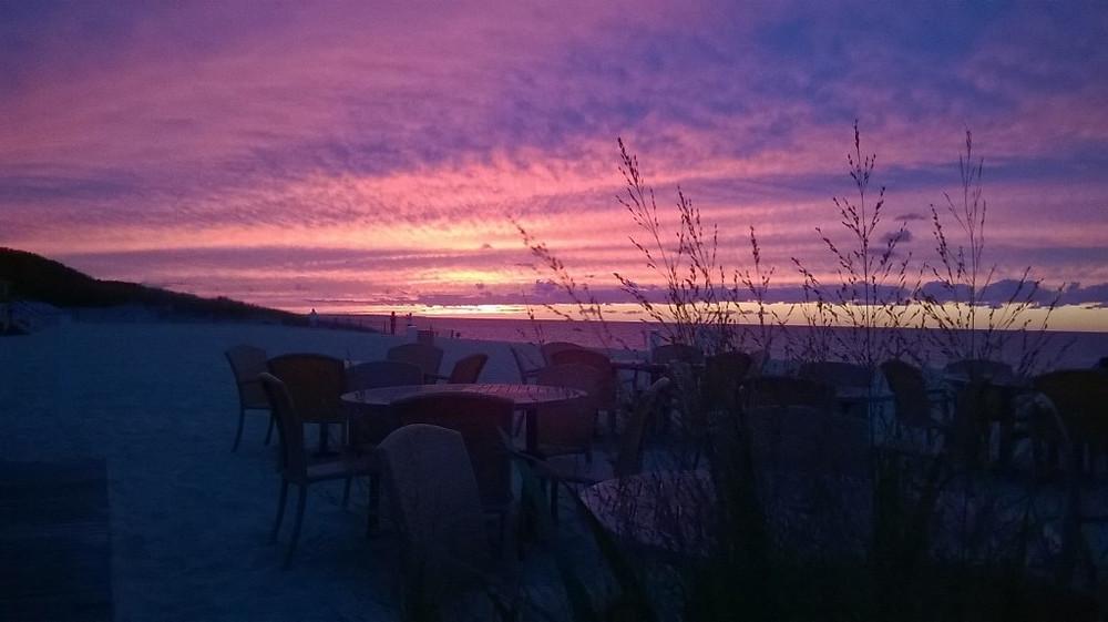 Pink sunset, Galley Beach, Nantucket