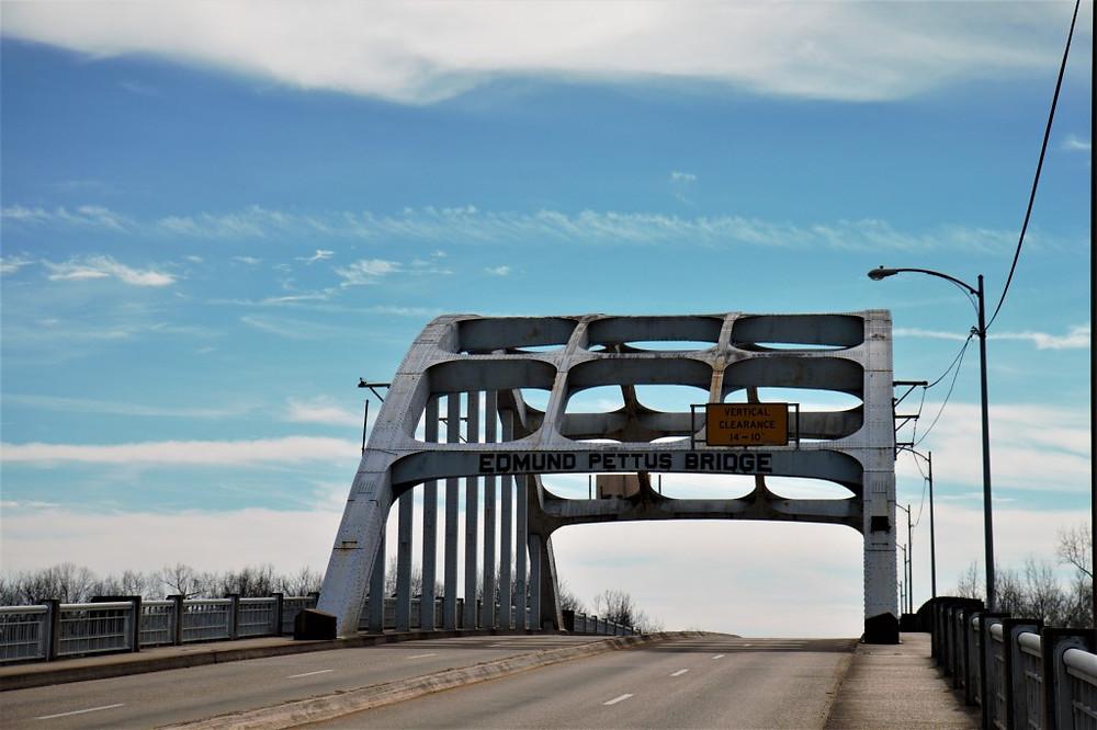 Edmund Pettus Bridge, Selma, and Bloody Sunday.
