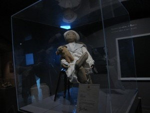 Robert the Doll on the Ghosts and Gravestones Frightseeing Tour.