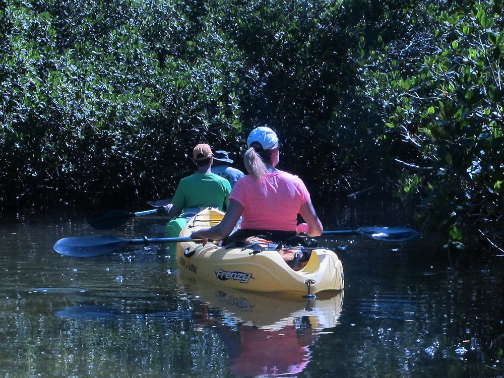 Kayaking near Key West