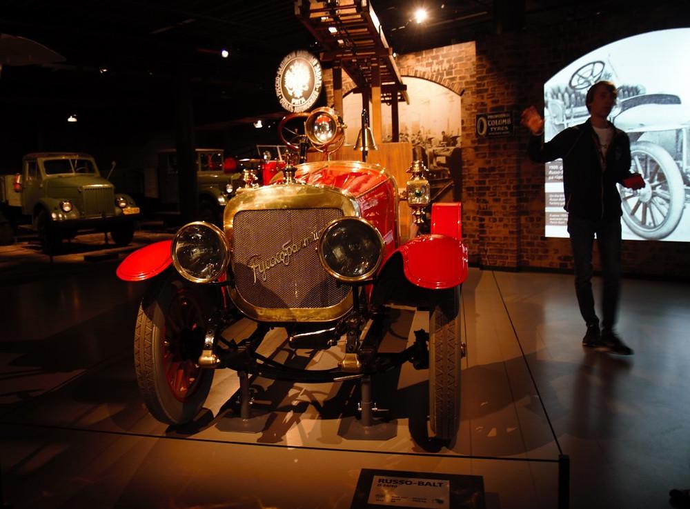 An original fire engine