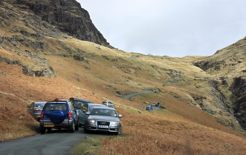 Hardknott Pass, Lake District. Credit: roadstodrive.com